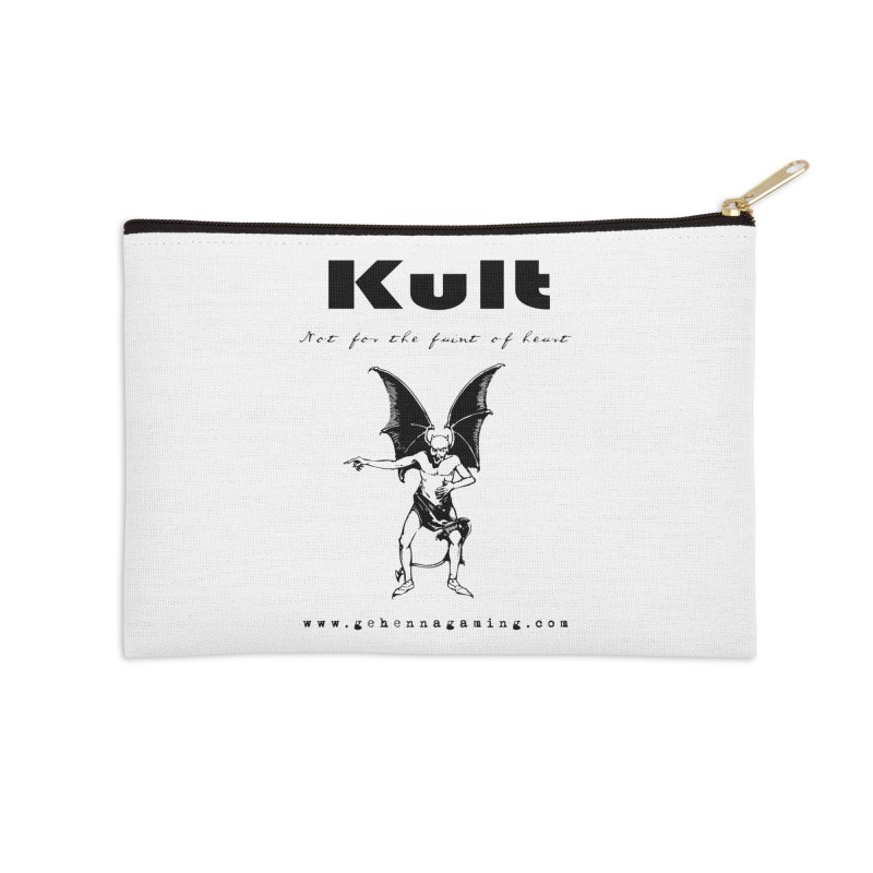 Kult: Not for the faint of heart (Black Edition) Accessories Zip Pouch by The Gehenna Gaming Shop