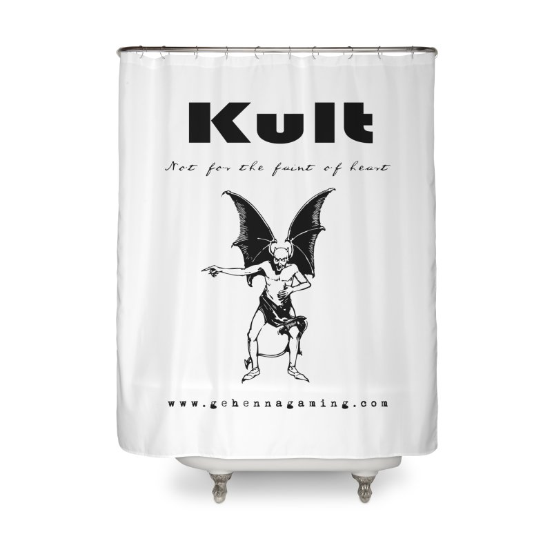 Kult: Not for the faint of heart (Black Edition) Home Shower Curtain by The Gehenna Gaming Shop