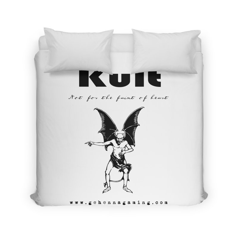 Kult: Not for the faint of heart (Black Edition) Home Duvet by The Gehenna Gaming Shop