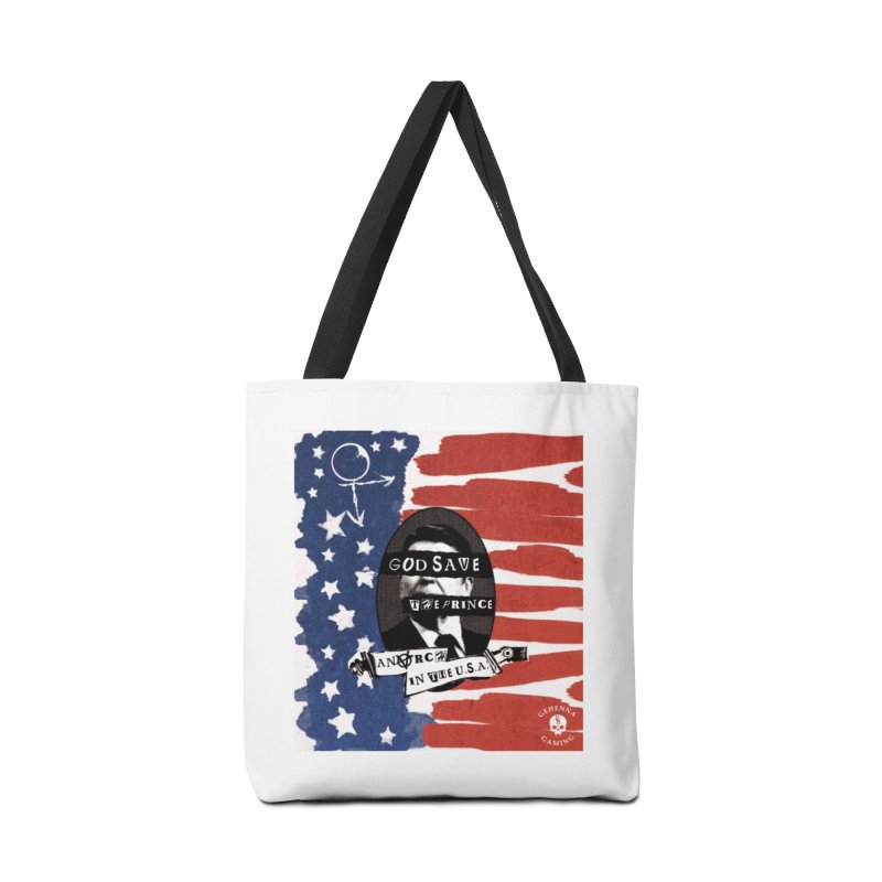 Anarch in the U.S.A. Accessories Tote Bag Bag by GehennaGaming's Artist Shop