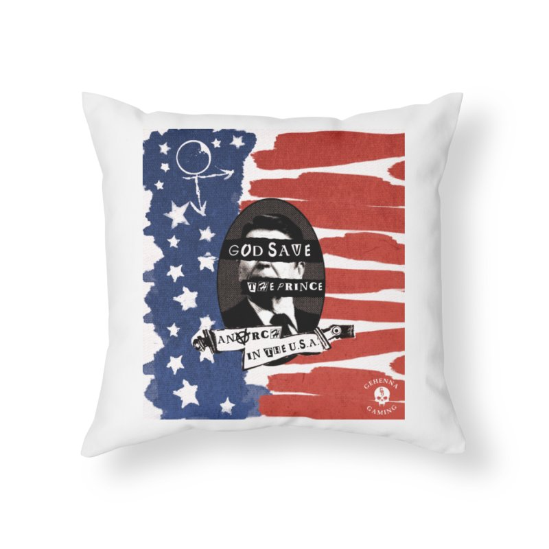 Anarch in the U.S.A. Home Throw Pillow by The Gehenna Gaming Shop