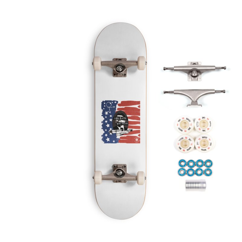 Anarch in the U.S.A. Accessories Complete - Premium Skateboard by The Gehenna Gaming Shop