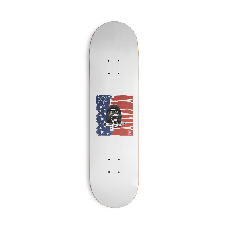 Anarch in the U.S.A. Accessories Skateboard by The Gehenna Gaming Shop