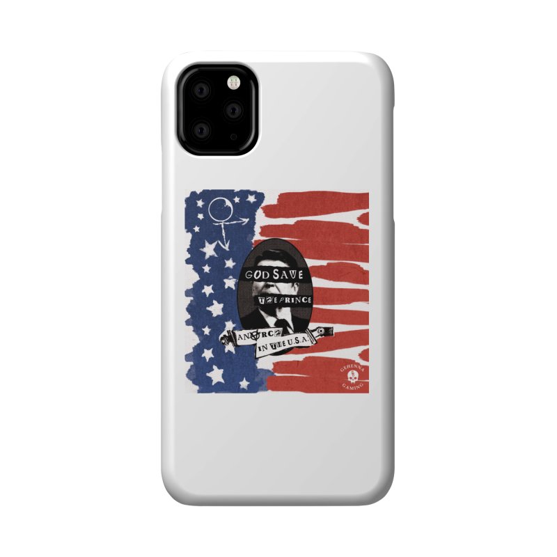 Anarch in the U.S.A. Accessories Phone Case by GehennaGaming's Artist Shop