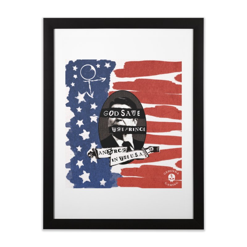 Anarch in the U.S.A. Home Framed Fine Art Print by The Gehenna Gaming Shop