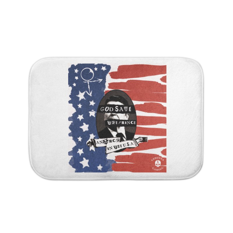 Anarch in the U.S.A. Home Bath Mat by The Gehenna Gaming Shop