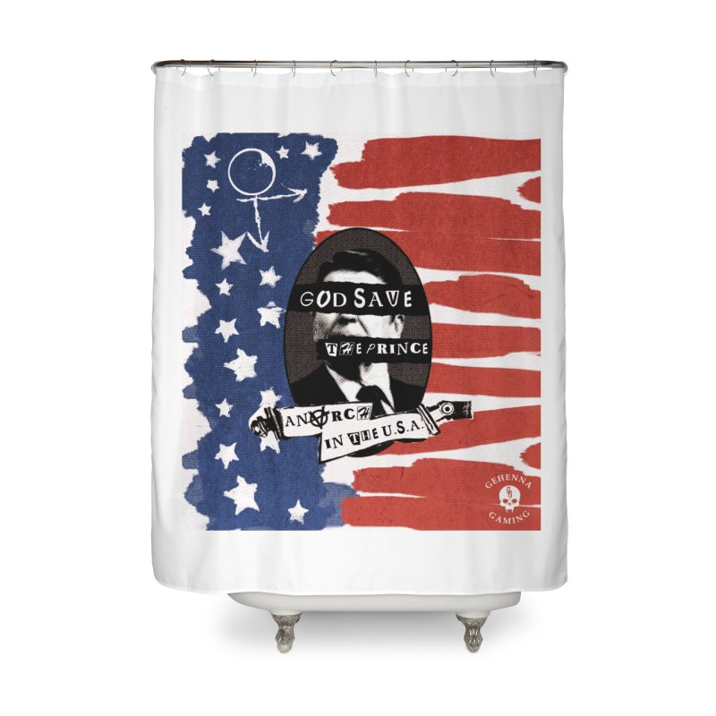 Anarch in the U.S.A. Home Shower Curtain by The Gehenna Gaming Shop