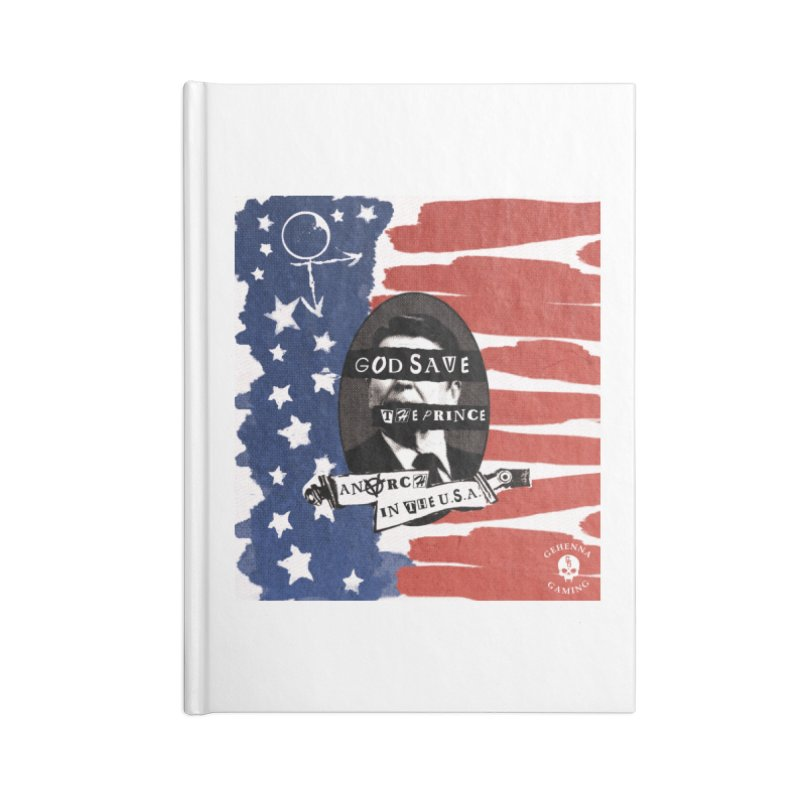Anarch in the U.S.A. Accessories Lined Journal Notebook by The Gehenna Gaming Shop