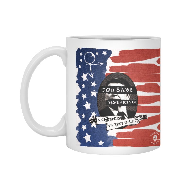 Anarch in the U.S.A. Accessories Standard Mug by GehennaGaming's Artist Shop