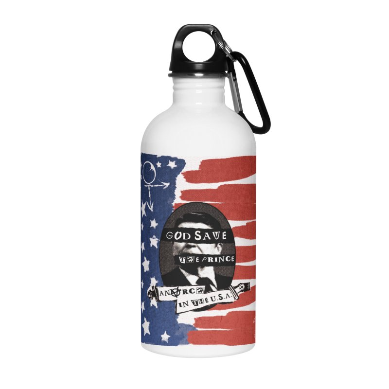 Anarch in the U.S.A. Accessories Water Bottle by GehennaGaming's Artist Shop