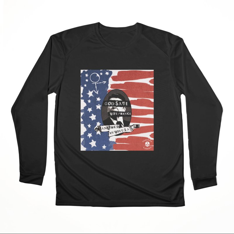 Anarch in the U.S.A. Men's Performance Longsleeve T-Shirt by GehennaGaming's Artist Shop