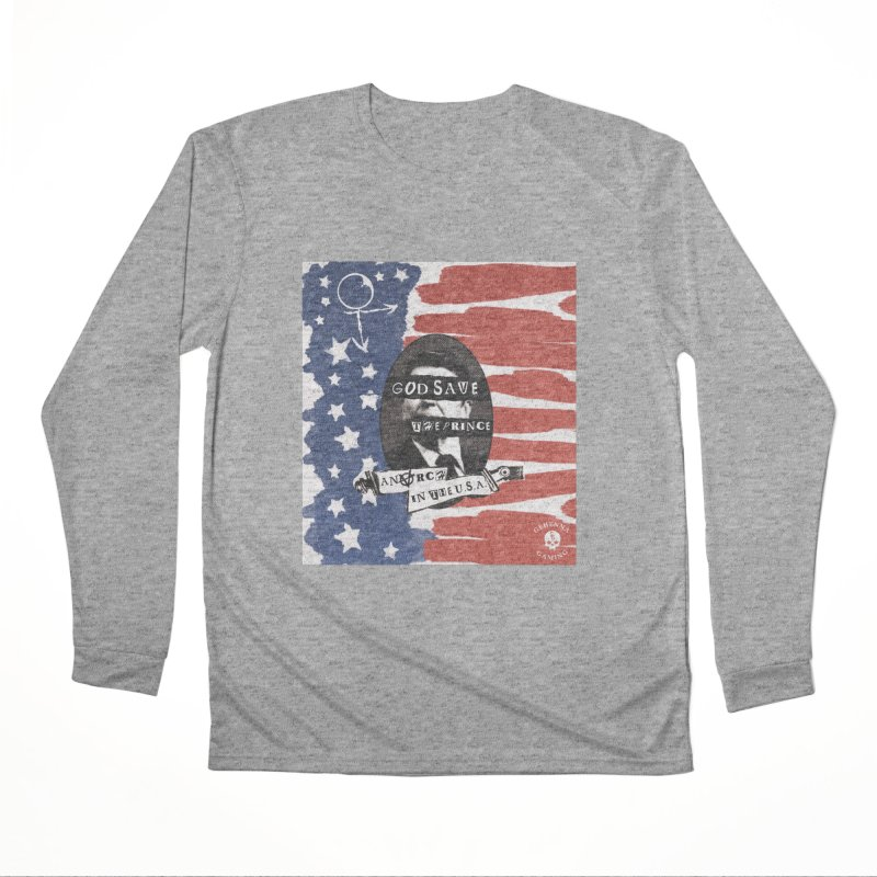 Anarch in the U.S.A. Women's Performance Unisex Longsleeve T-Shirt by GehennaGaming's Artist Shop