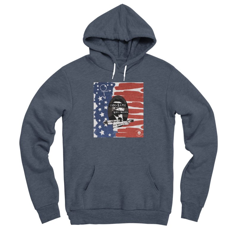 Anarch in the U.S.A. Men's Sponge Fleece Pullover Hoody by The Gehenna Gaming Shop
