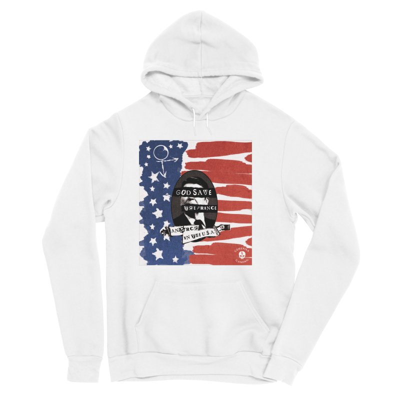 Anarch in the U.S.A. Women's Sponge Fleece Pullover Hoody by The Gehenna Gaming Shop
