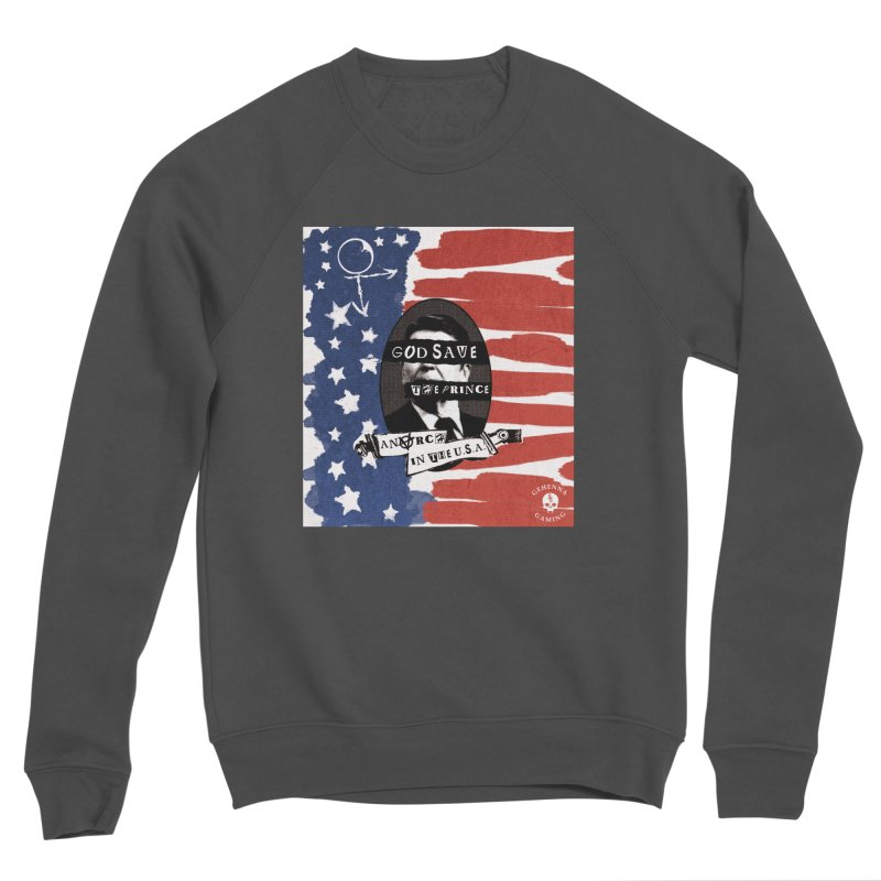 Anarch in the U.S.A. Men's Sponge Fleece Sweatshirt by The Gehenna Gaming Shop