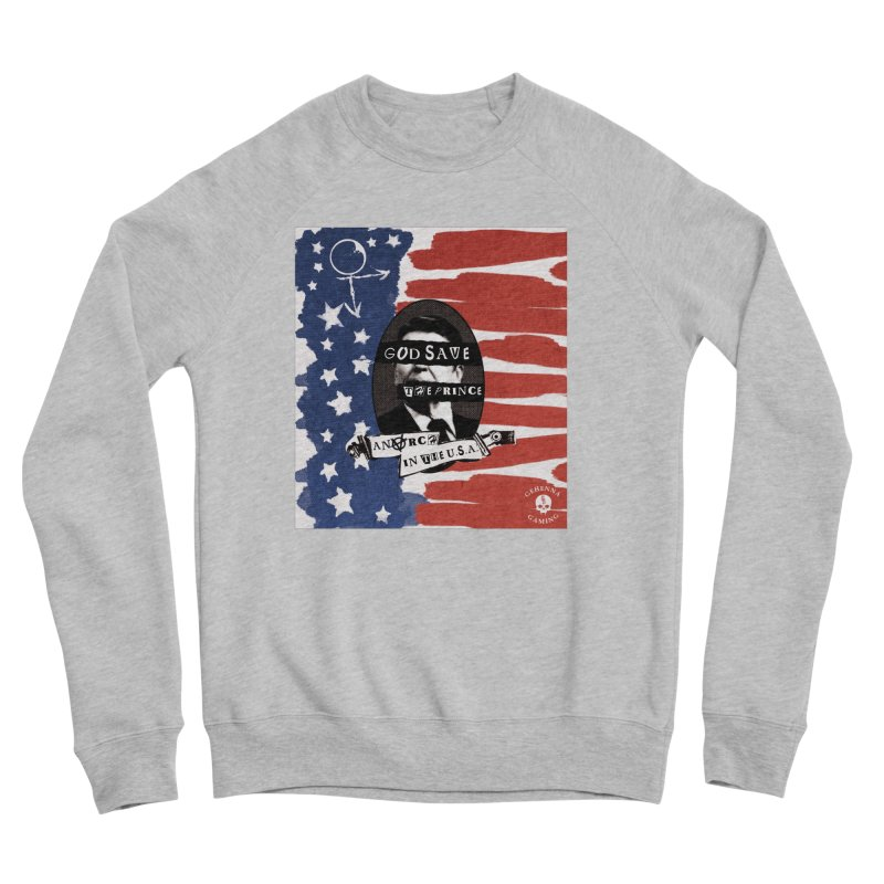 Anarch in the U.S.A. Women's Sponge Fleece Sweatshirt by The Gehenna Gaming Shop