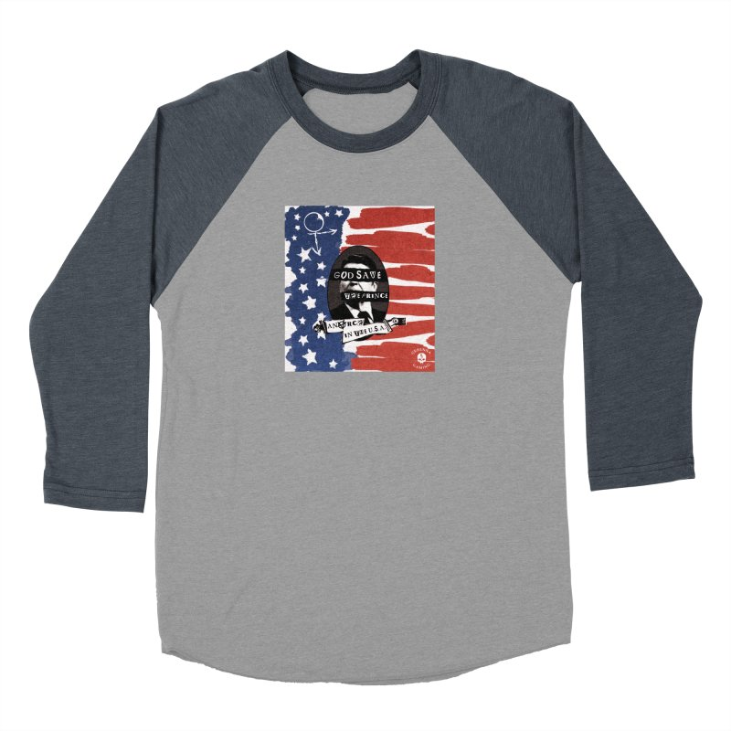 Anarch in the U.S.A. Women's Baseball Triblend Longsleeve T-Shirt by The Gehenna Gaming Shop