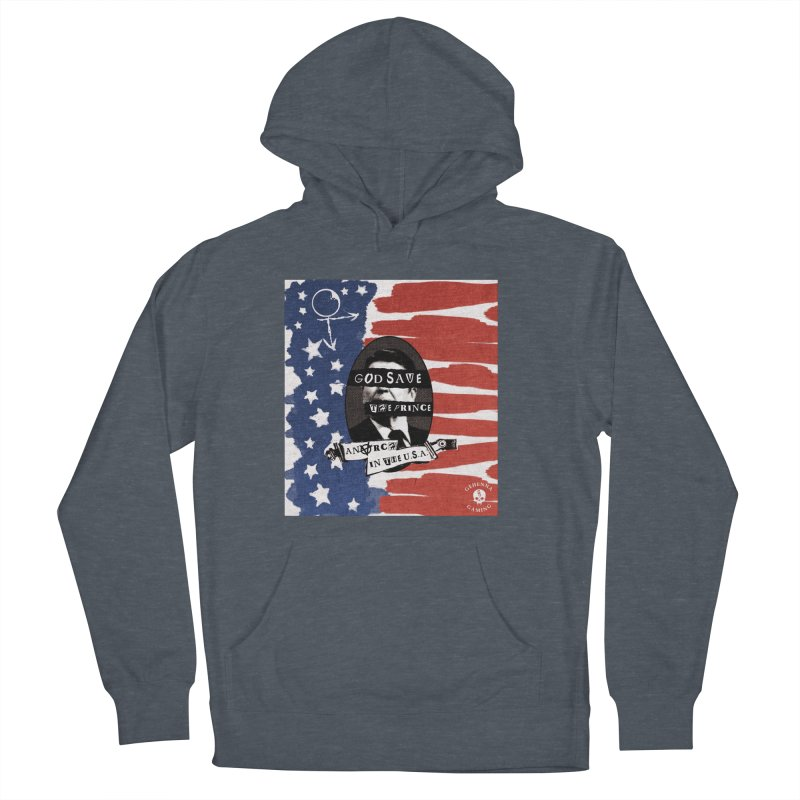 Anarch in the U.S.A. Women's French Terry Pullover Hoody by GehennaGaming's Artist Shop