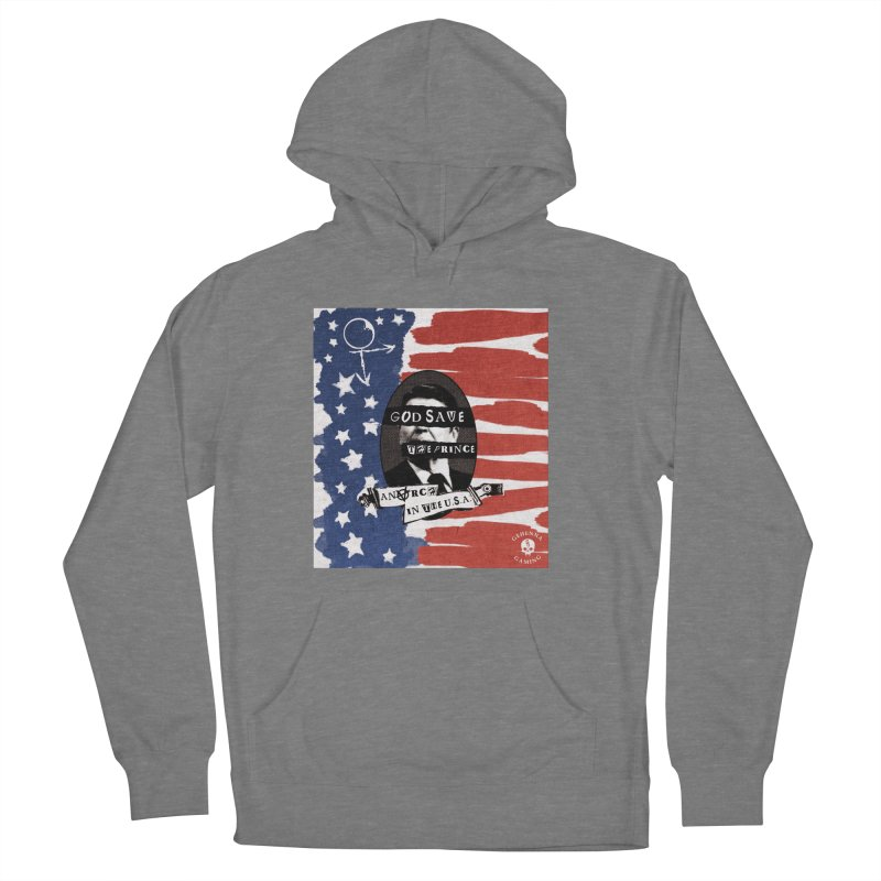 Anarch in the U.S.A. Women's French Terry Pullover Hoody by The Gehenna Gaming Shop