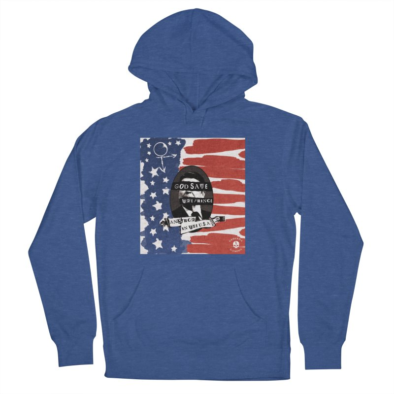 Anarch in the U.S.A. Men's French Terry Pullover Hoody by GehennaGaming's Artist Shop