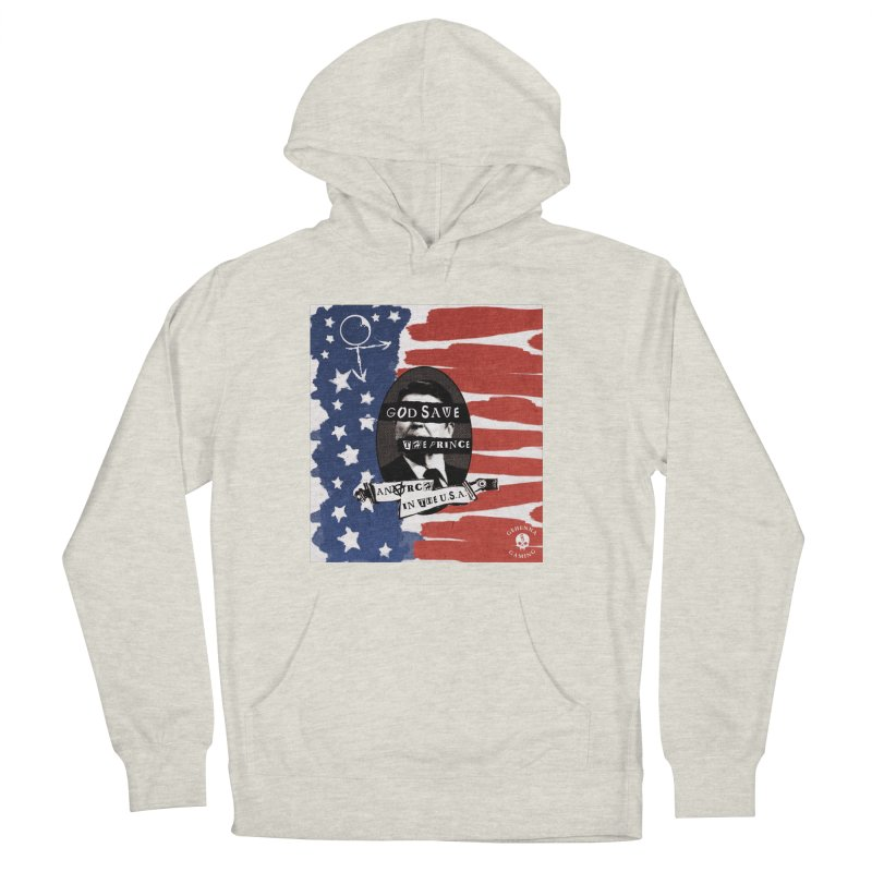 Anarch in the U.S.A. Men's French Terry Pullover Hoody by The Gehenna Gaming Shop