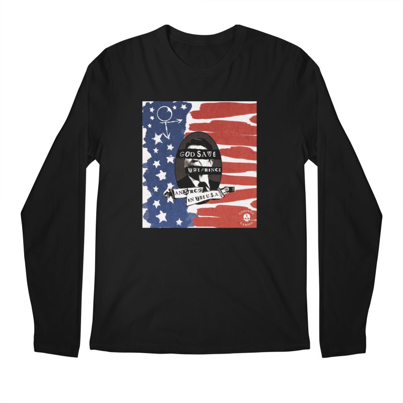 Anarch in the U.S.A. Men's Regular Longsleeve T-Shirt by The Gehenna Gaming Shop