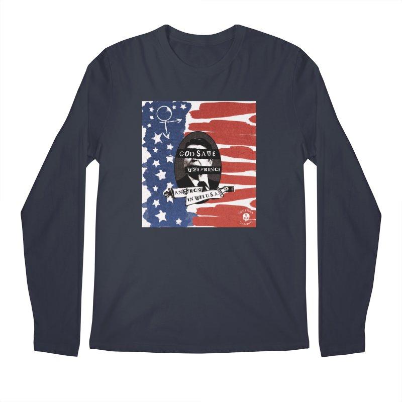 Anarch in the U.S.A. Men's Regular Longsleeve T-Shirt by GehennaGaming's Artist Shop