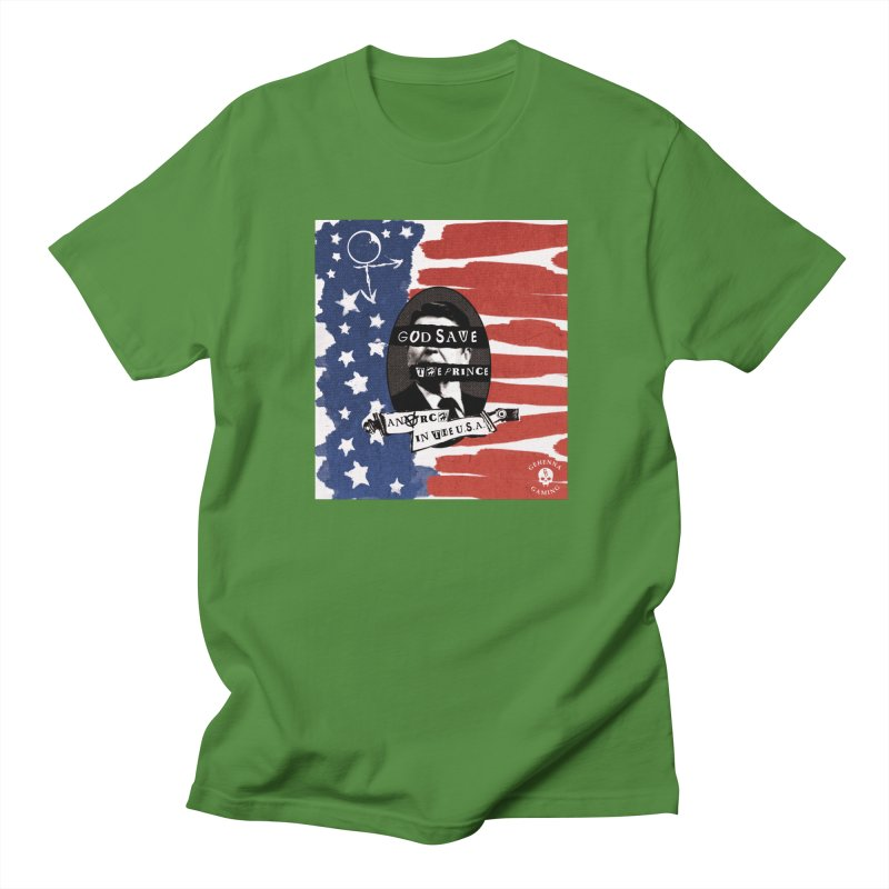 Anarch in the U.S.A. Men's Regular T-Shirt by The Gehenna Gaming Shop