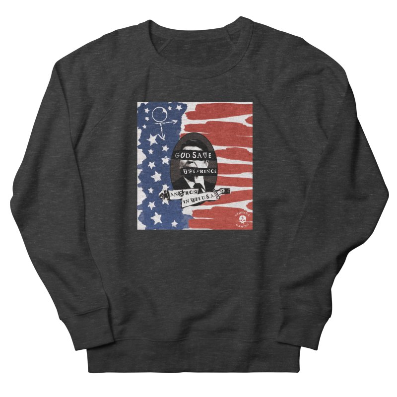 Anarch in the U.S.A. Women's French Terry Sweatshirt by The Gehenna Gaming Shop