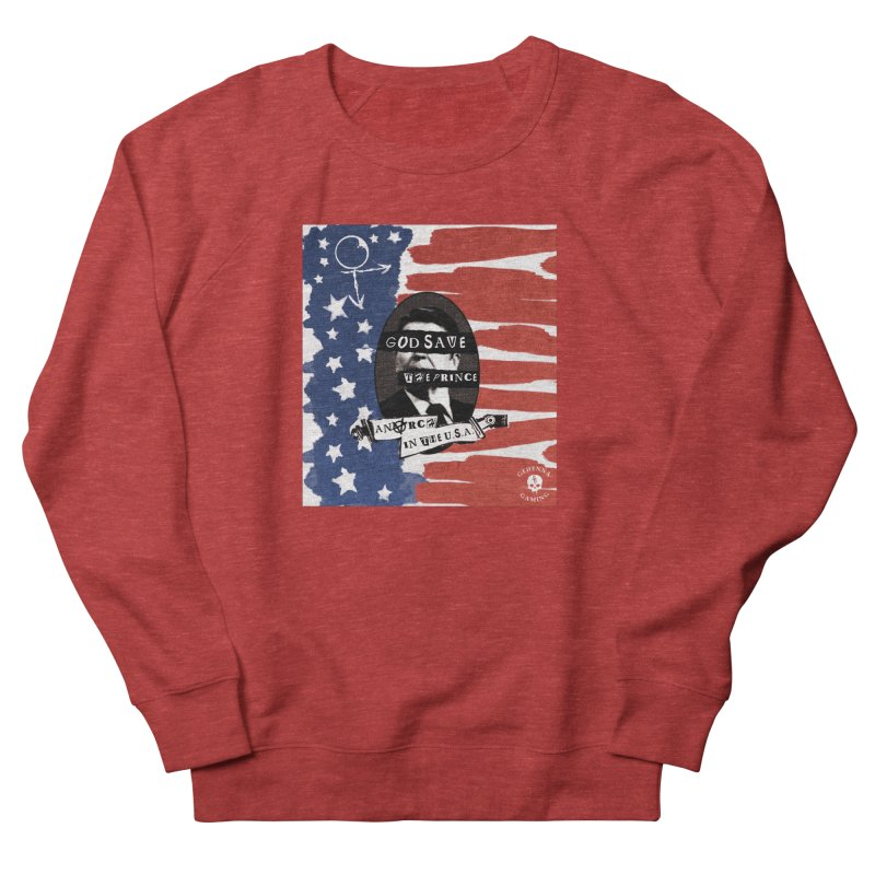 Anarch in the U.S.A. Women's French Terry Sweatshirt by GehennaGaming's Artist Shop