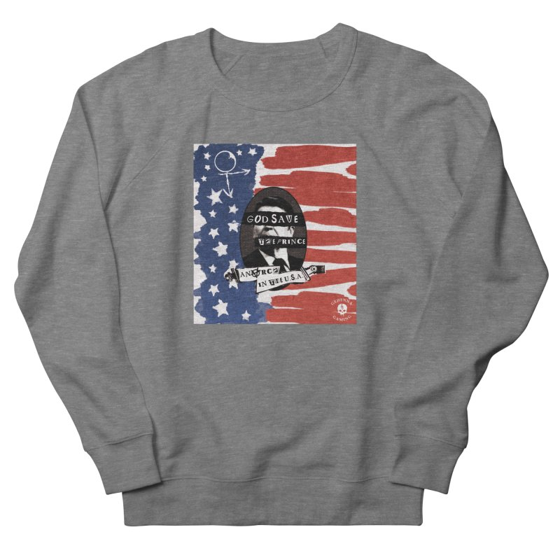 Anarch in the U.S.A. Men's French Terry Sweatshirt by The Gehenna Gaming Shop