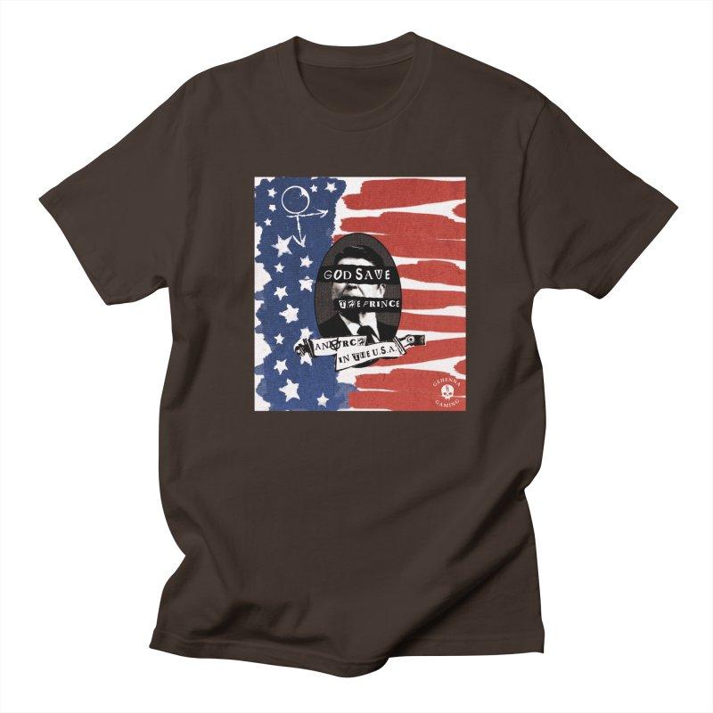 Anarch in the U.S.A. Men's Regular T-Shirt by GehennaGaming's Artist Shop