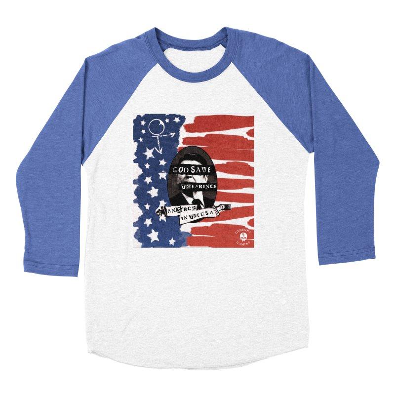 Anarch in the U.S.A. Women's Baseball Triblend Longsleeve T-Shirt by GehennaGaming's Artist Shop