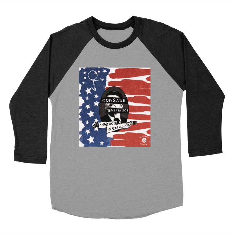 Anarch in the U.S.A. Men's Baseball Triblend Longsleeve T-Shirt by The Gehenna Gaming Shop