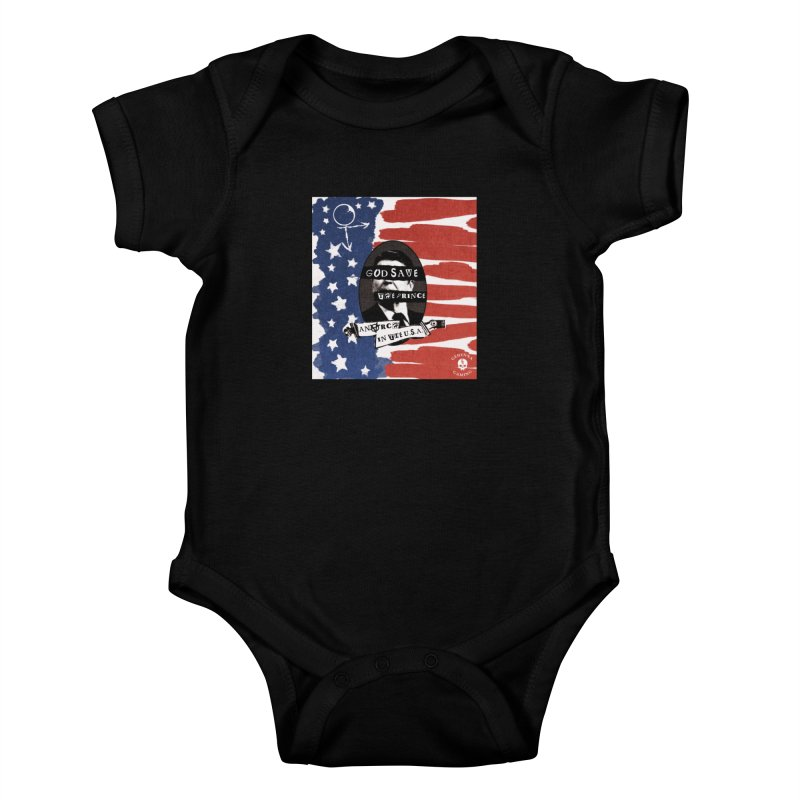 Anarch in the U.S.A. Kids Baby Bodysuit by The Gehenna Gaming Shop