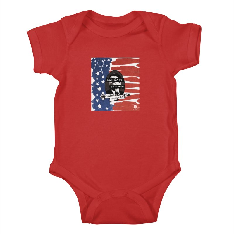 Anarch in the U.S.A. Kids Baby Bodysuit by GehennaGaming's Artist Shop