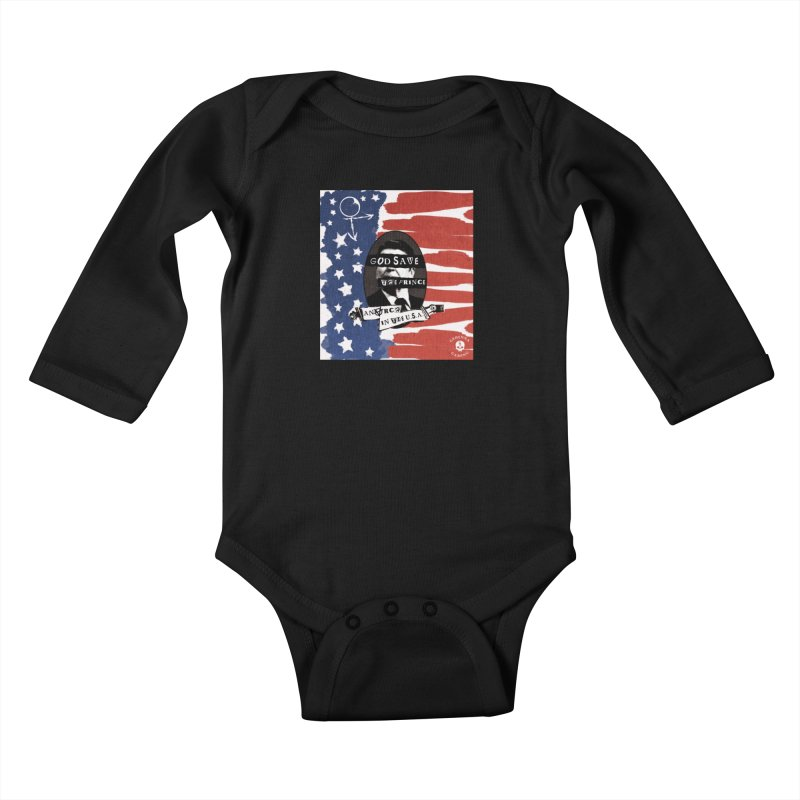 Anarch in the U.S.A. Kids Baby Longsleeve Bodysuit by GehennaGaming's Artist Shop