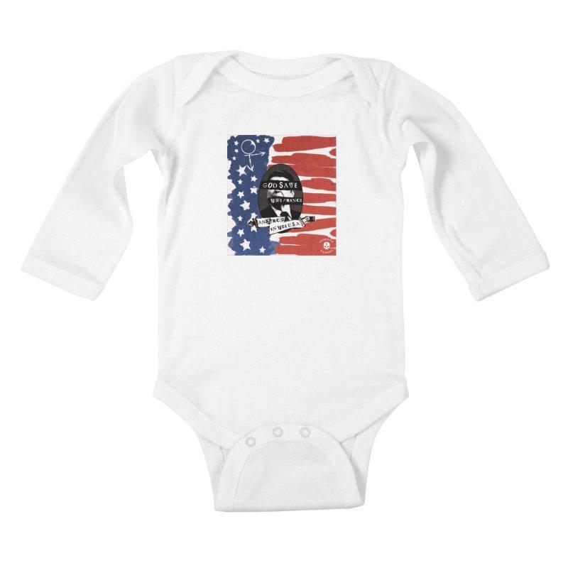 Anarch in the U.S.A. Kids Baby Longsleeve Bodysuit by GehennaGaming's Artist Shop
