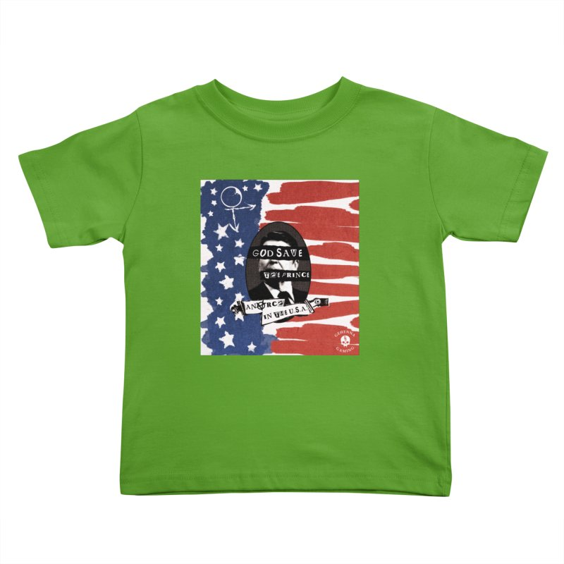 Anarch in the U.S.A. Kids Toddler T-Shirt by The Gehenna Gaming Shop