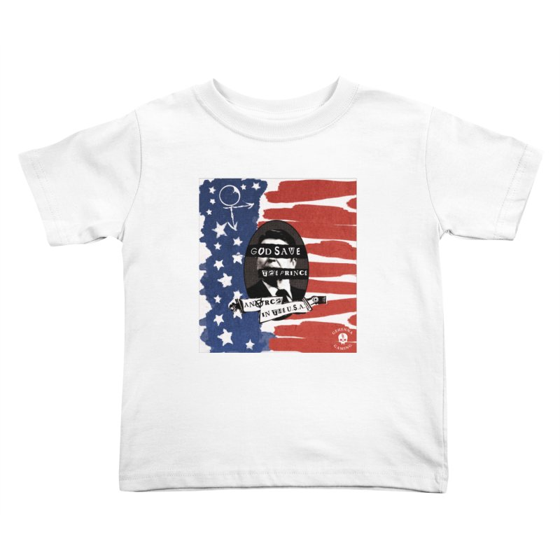 Anarch in the U.S.A. Kids Toddler T-Shirt by GehennaGaming's Artist Shop