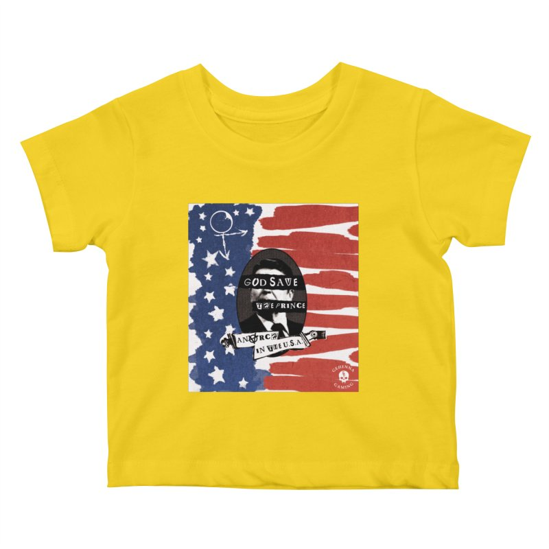 Anarch in the U.S.A. Kids Baby T-Shirt by The Gehenna Gaming Shop