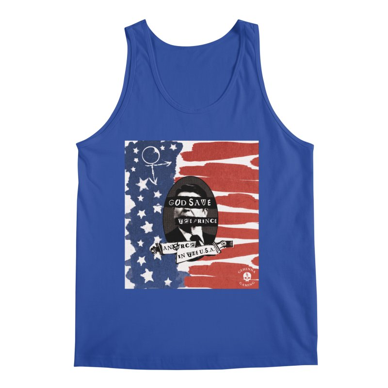 Anarch in the U.S.A. Men's Regular Tank by The Gehenna Gaming Shop