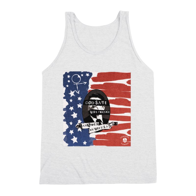 Anarch in the U.S.A. Men's Triblend Tank by The Gehenna Gaming Shop
