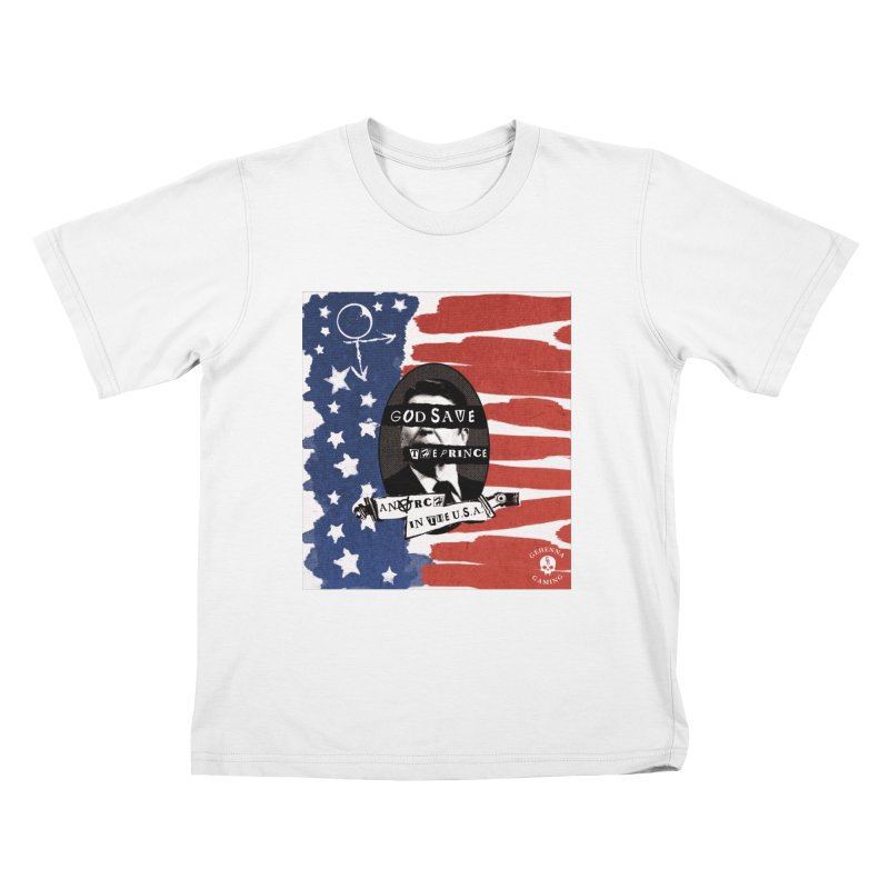 Anarch in the U.S.A. Kids T-Shirt by GehennaGaming's Artist Shop