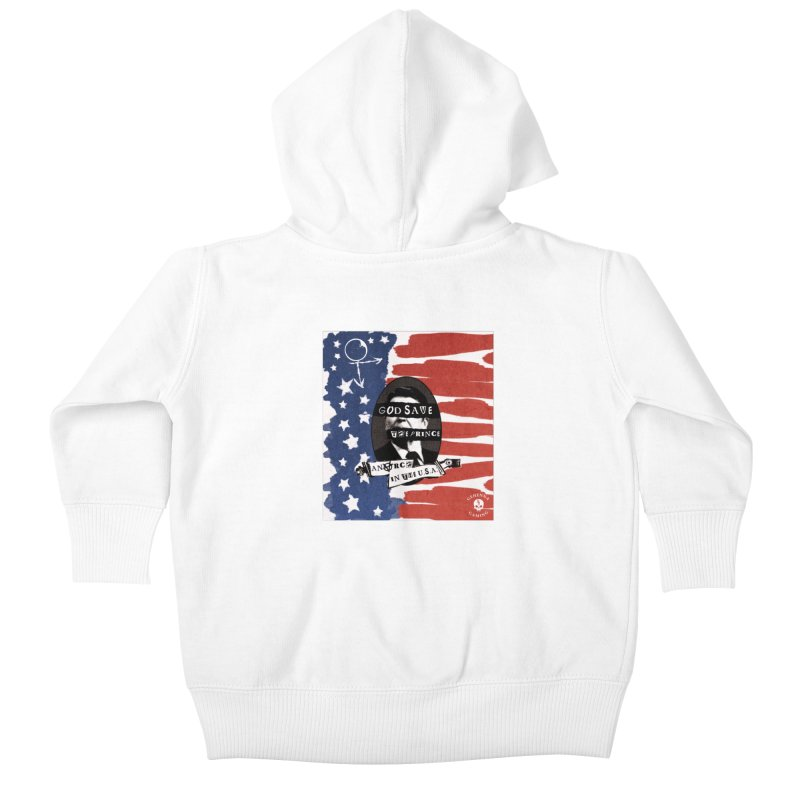 Anarch in the U.S.A. Kids Baby Zip-Up Hoody by GehennaGaming's Artist Shop