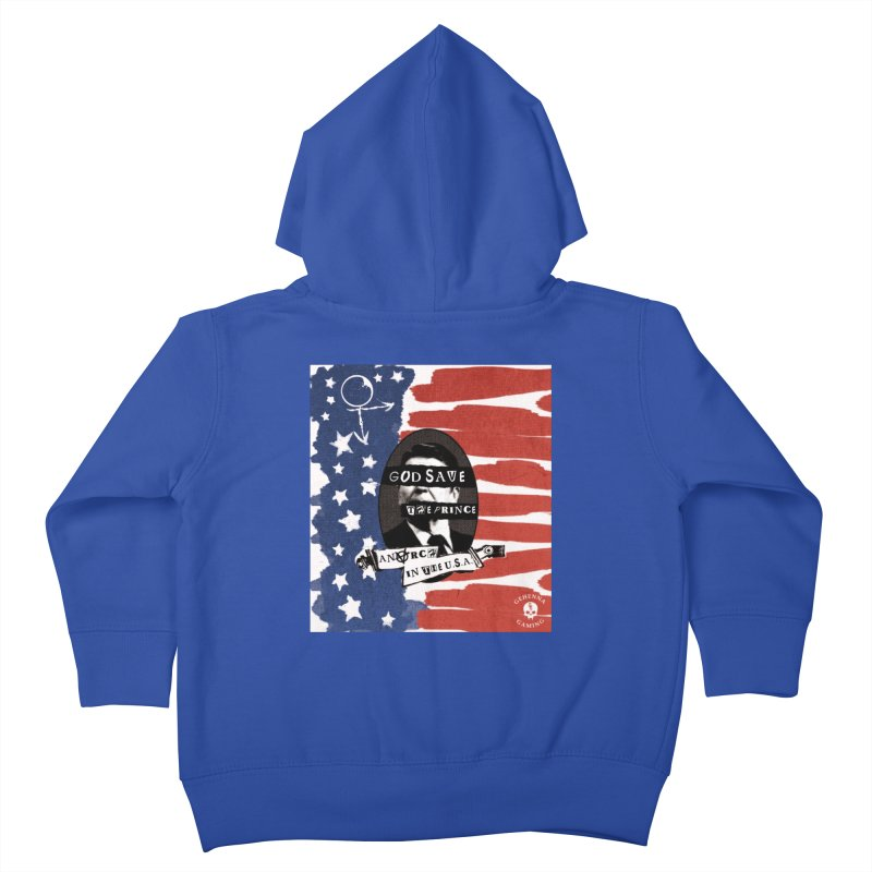 Anarch in the U.S.A. Kids Toddler Zip-Up Hoody by GehennaGaming's Artist Shop