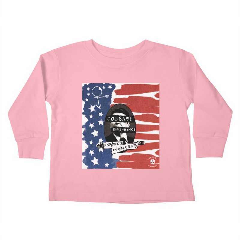 Anarch in the U.S.A. Kids Toddler Longsleeve T-Shirt by GehennaGaming's Artist Shop