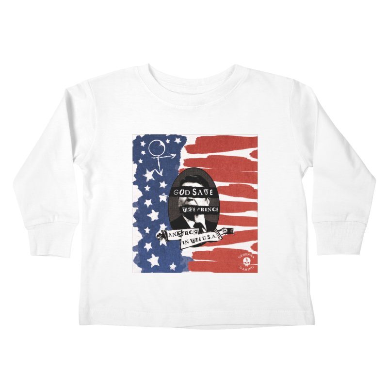 Anarch in the U.S.A. Kids Toddler Longsleeve T-Shirt by The Gehenna Gaming Shop