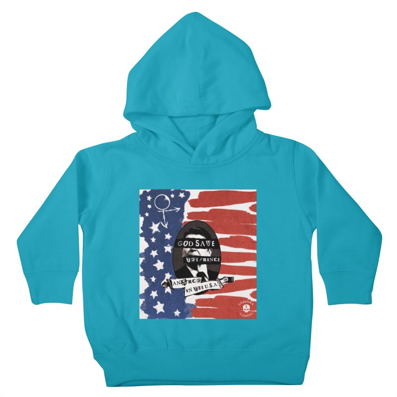 Anarch in the U.S.A. Kids Toddler Pullover Hoody by The Gehenna Gaming Shop