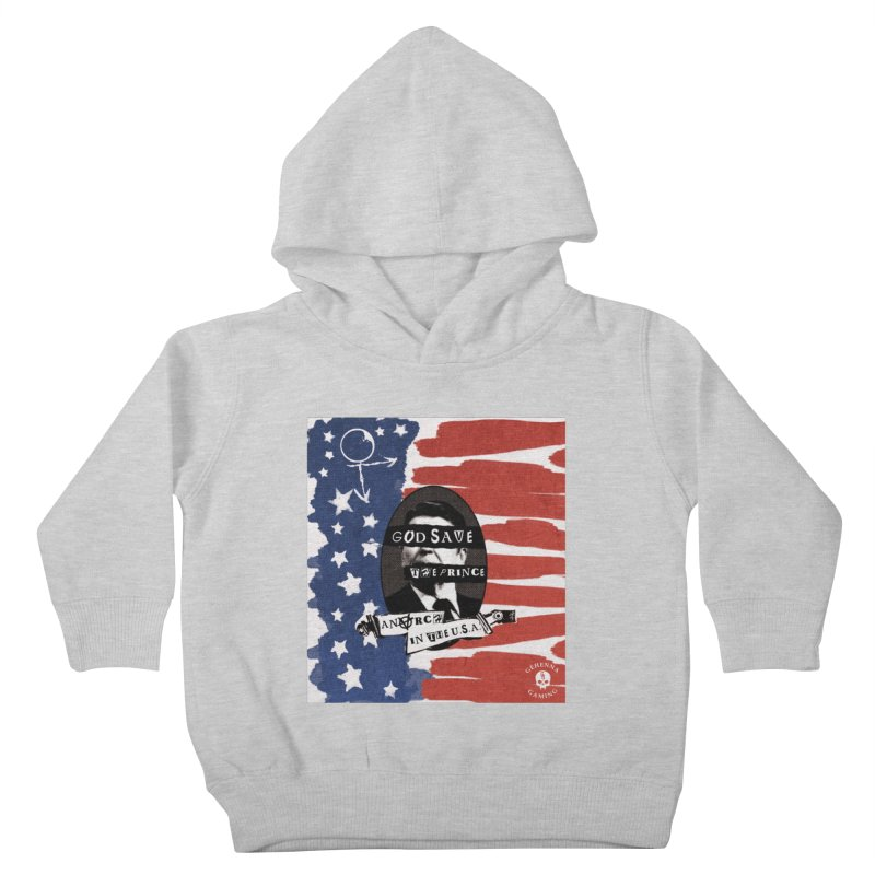 Anarch in the U.S.A. Kids Toddler Pullover Hoody by GehennaGaming's Artist Shop